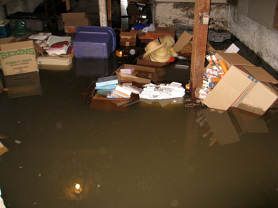 flooded basement cleanup is a multi layered process taking each step